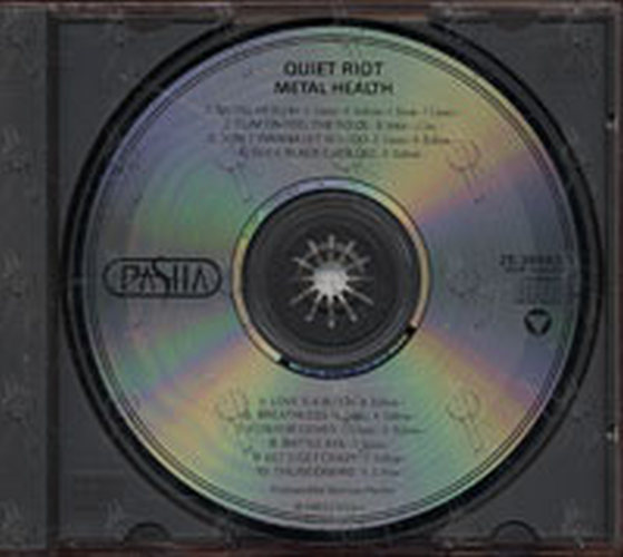 Quiet Riot Metal Health Album Cd Rare Records