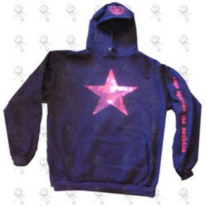 RAGE AGAINST THE MACHINE - Black 'Star' Logo Hoodie - 1