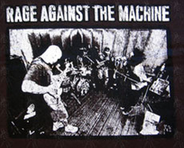 Rage Against The Machine Brown Evil Empire Image T