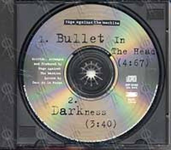 rage against the machine bullet in the