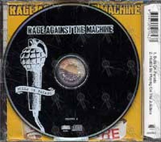 RAGE AGAINST THE MACHINE - Bulls On Parade (CD, Single ...