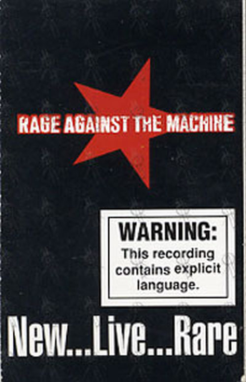 RAGE AGAINST THE MACHINE - New ... Live ... Rare - 1