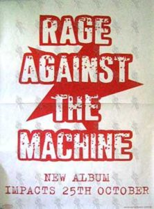 RAGE AGAINST THE MACHINE - 'The Battle Of Los Angeles' Album Poster - 1