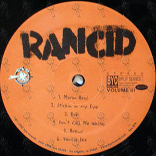 Rancid and nofx vanilla sex