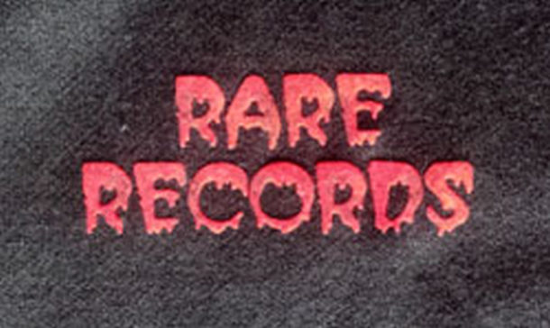 RARE RECORDS - Limited Edition Black With Red Logo Hoodie - 2