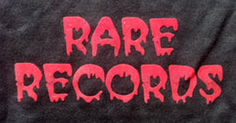 RARE RECORDS - Limited Edition Black With Red Logo Hoodie - 4