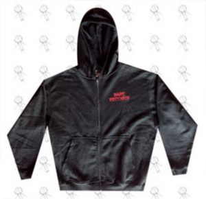 RARE RECORDS - Limited Edition Black With Red Logo Hoodie - 1