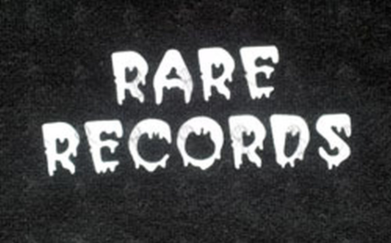 RARE RECORDS - Limited Edition Black With White Logo Hoodie - 2