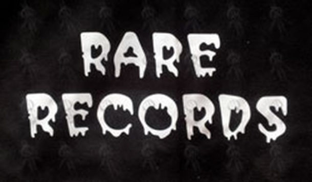 RARE RECORDS - Limited Edition Black With White Logo Hoodie - 4