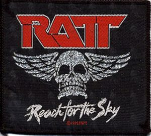 RATT - Embroidered 'Reach For The Sky' Design Logo Patch - 1