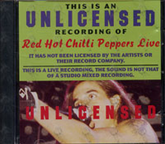 RED HOT CHILI PEPPERS - Amcos Live - 1