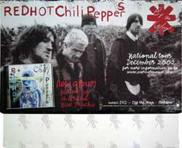 RED HOT CHILI PEPPERS - 'By The Way' Promo Board - 1