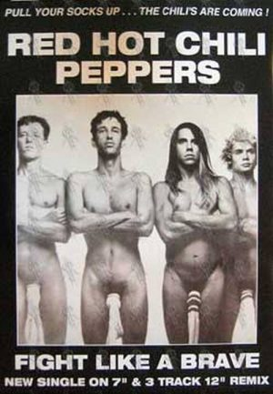 RED HOT CHILI PEPPERS - 'Fight Like A Brave' Poster - 1