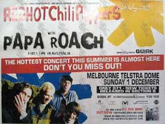 RED HOT CHILI PEPPERS - 'Melbourne Testra Dome
