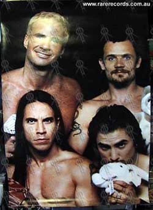 red hot chili peppers 39 one hot minute 39 band photo poster posters regular sizes rare records. Black Bedroom Furniture Sets. Home Design Ideas