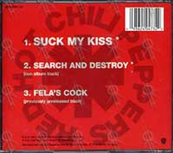 Suck My Kiss Red Hot Chili