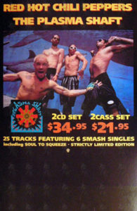 RED HOT CHILI PEPPERS - 'The Plasma Shaft' In-Store Promo Display - 1