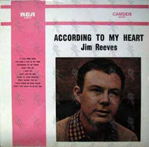 REEVES-- JIM - According To My Heart - 1
