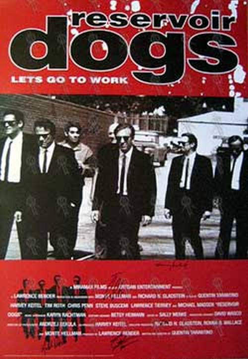 Reservoir Dogs Reservoir Dogs Movie Poster Posters