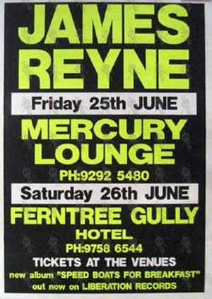 REYNE-- JAMES - 'Mercury Lounge