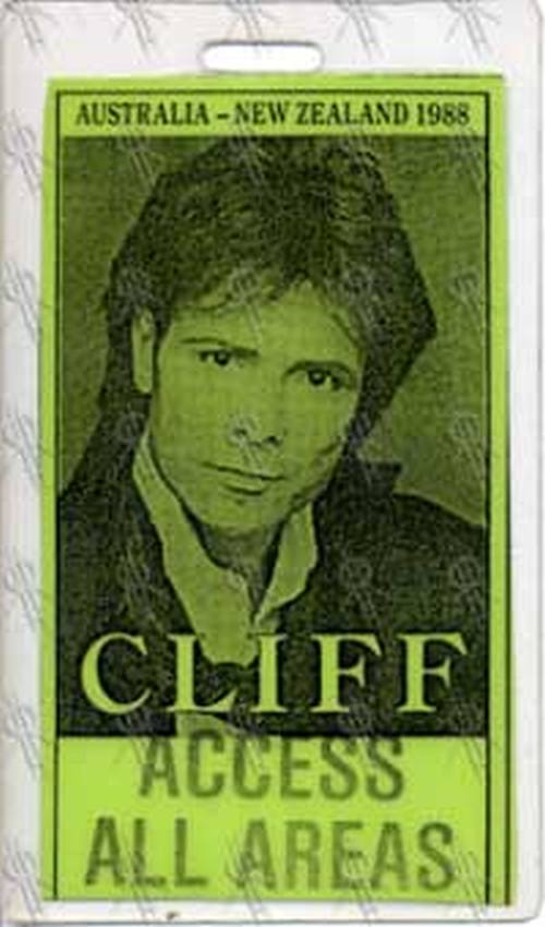 RICHARD-- CLIFF - 1988 Australia/New Zealand Access All Areas Laminate - 1