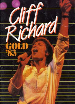 RICHARD-- CLIFF - Gold 1983 Australian Tour Program - 1