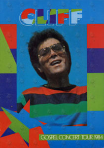 RICHARD-- CLIFF - Gospel Concert 1984 Tour Program - 1