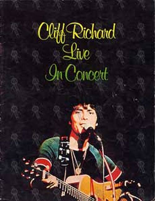RICHARD-- CLIFF - Live In Concert 1977 Tour Program - 1