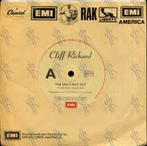 RICHARD-- CLIFF - The Only Way Out - 1