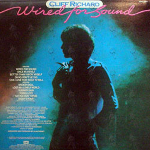 RICHARD, CLIFF - Wired For Sound (12 Inch / LP, Vinyl) | Rare Records