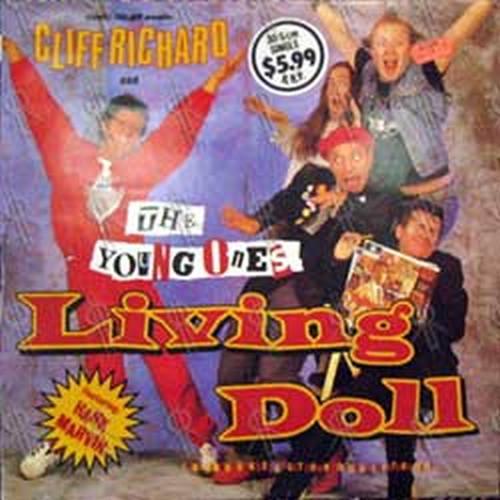 RICHARD-- CLIFF and THE YOUNG ONES - Living Doll - 1