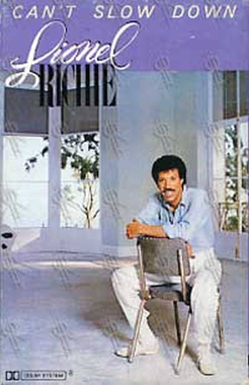 RICHIE-- LIONEL - Can't Slow Down - 1