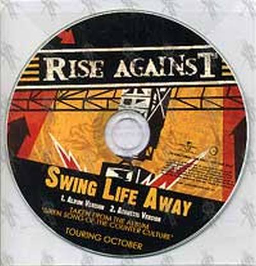 Rise Against Swing Life Away Cd Rare Records