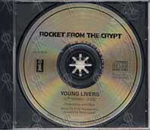 Rocket From The Crypt Young Livers Cd Single Ep