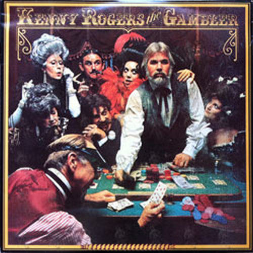 ROGERS-- KENNY - The Gambler - 1