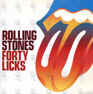 ROLLING STONES - 'Forty Licks' Promo Sticker - 1