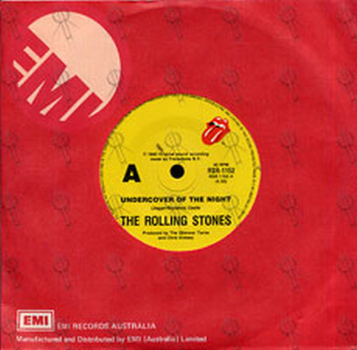 Rolling Stones The Undercover Of The Night 7 Inch