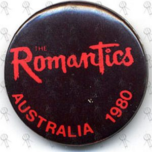 ROMANTICS-- THE - Badge - 1