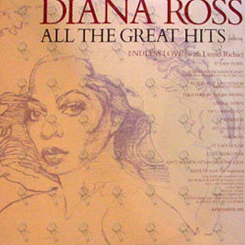 ROSS-- DIANA - All The Great Hits - 1
