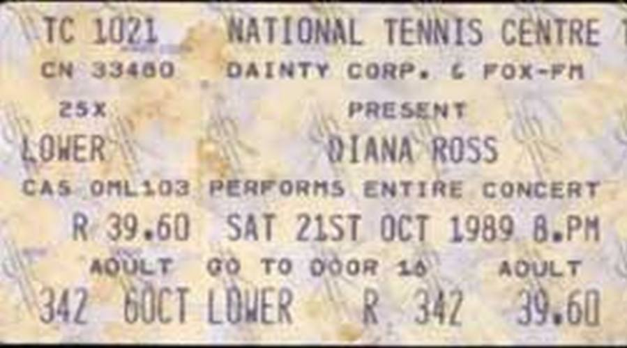 ROSS-- DIANA - National Tennis Centre