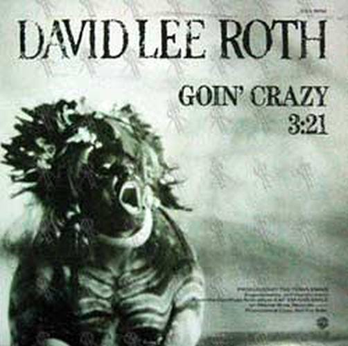 ROTH-- DAVID LEE - Goin' Crazy - 1