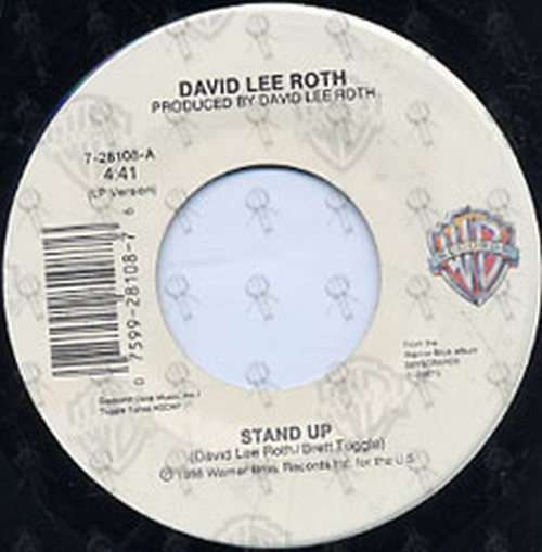 ROTH-- DAVID LEE - Stand Up - 3