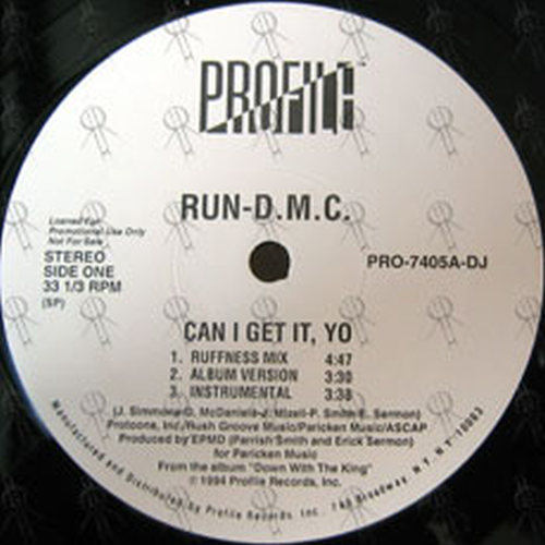 RUN DMC - Can I Get It