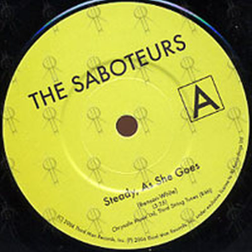 Saboteurs The Hands Steady As She Goes 7 Inch