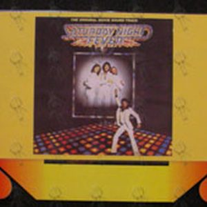 SATURDAY NIGHT FEVER - Movie Soundtrack Promo Dump Bin Rack Display - 1