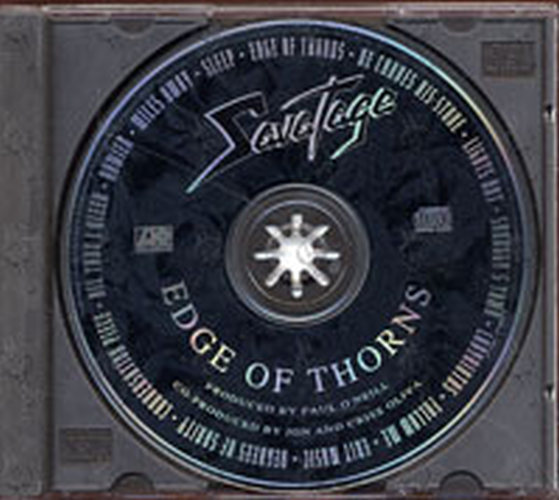 Savatage Edge Of Thorns Album Cd Rare Records