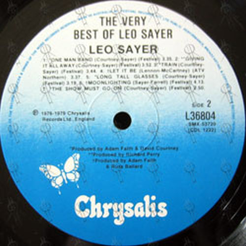 Sayer Leo The Very Best Of Leo Sayer 12 Inch Lp