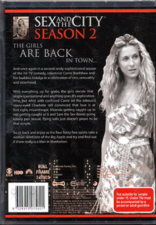 Sex and the city season two dvd