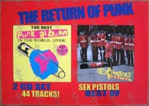 SEX PISTOLS - 'Jubilee' Album/'The Best Punk Album In The World...Ever!' Compilation - 1
