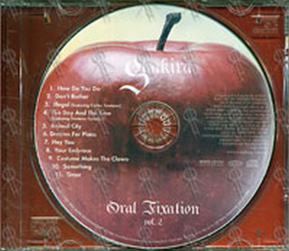 Oral Fixation Cd 116